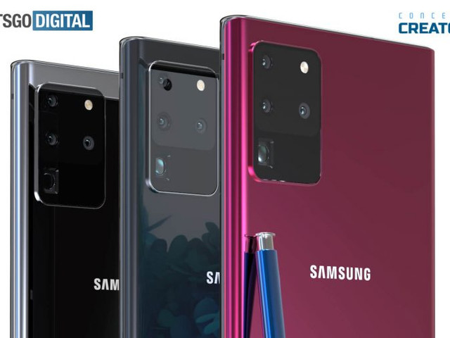 Samsung's Galaxy Note 20+ looks stunning in these new renders