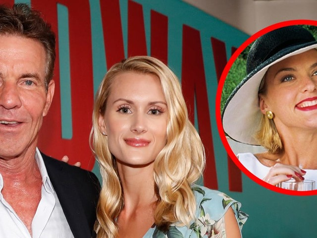 Dennis Quaid, 65, is marrying a 26 year old, and his 'Parent Trap' costar just made the best joke