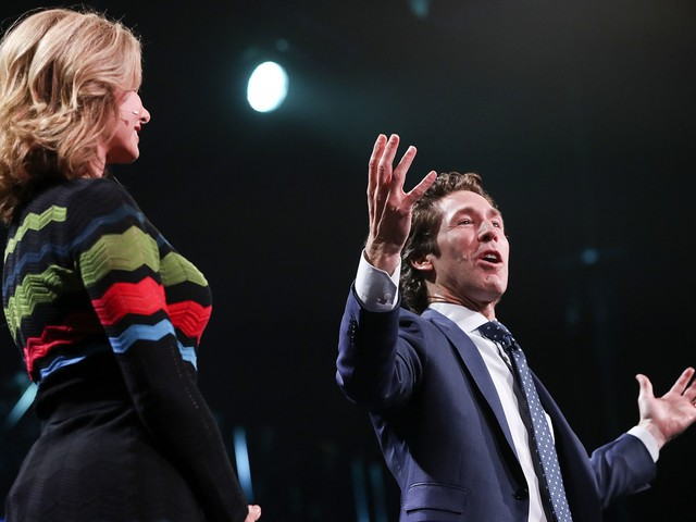Joel Osteen said he avoids being alone with women who aren't his wife