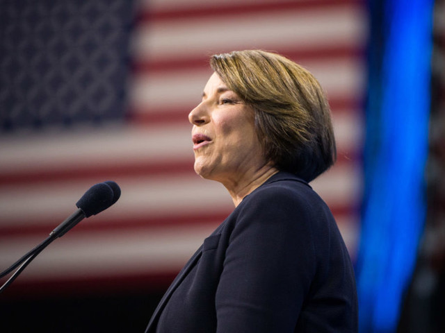 2020 Candidate Amy Klobuchar Says Her 'Optimistic Economic Agenda' Will Attract Voters