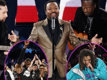 NBA ALL-STAR GAME RECAP: Anthony Hamilton's Marvin Gaye-esque National Anthem Has Folks Divided + J. Cole, Meek Mill & Janelle Monae + #TeamLeBron Wins!