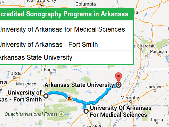 Accredited Ultrasound Technician Schools in Arkansas