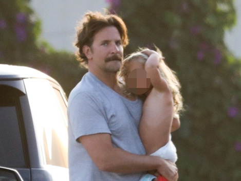 Bradley Cooper Is A Doting Dad As He Takes Adorable Daughter Lea, 2, To The Beach – Pic