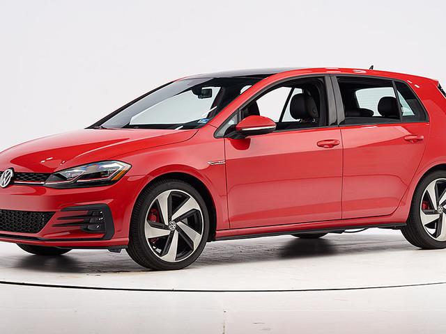 Volkswagen GTI earns safety award
