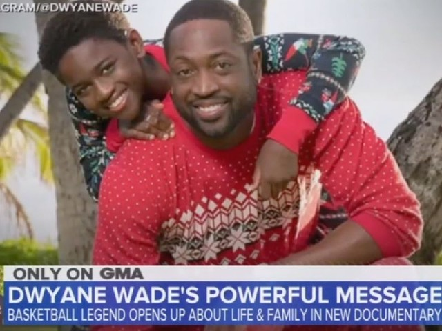 ABC hosts gush over Dwyane Wade's 12-year-old trans child: 'She seems wise beyond her 12 years!'
