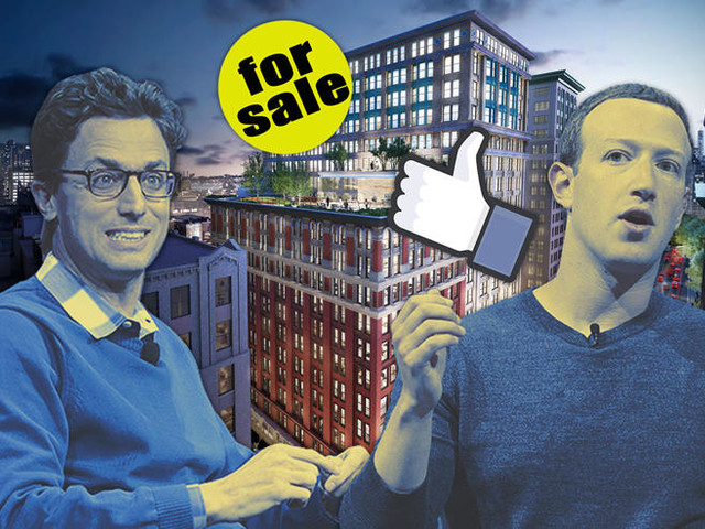 The Midtown South home of Facebook, Buzzfeed asks up to $800M