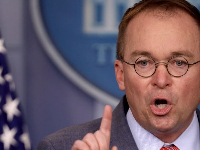 Mick Mulvaney tries to claw back his confirmation — made on live TV — that Trump threatened to withhold aid to Ukraine to secure political dirt on Democrats