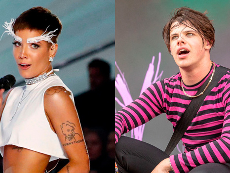 Halsey Gets An Intimate Foot Massage From BF Yungblud On A Yacht — Watch