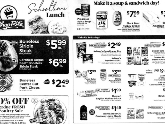 ShopRite Preview Ad for the week of 9/19/21