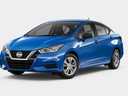 Ace of Base: 2020 Nissan Versa S Five-speed