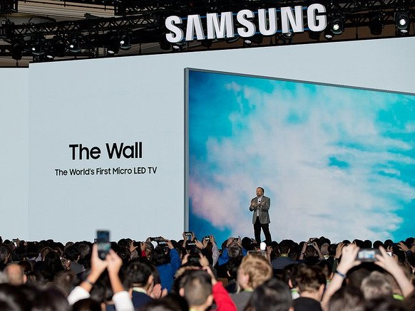 Samsung's 146-inch television 'The Wall' is as big as a wall