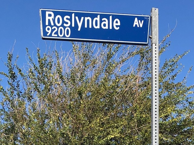 What's in a street name? Roslyndale Ave., known for 'Back to the Future,' has a uniquely enduring community