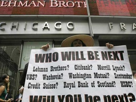 A Gentle Reminder: Lehman Was Not 'A Moment'