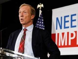 Steyer to put more millions into impeachment, not a campaign