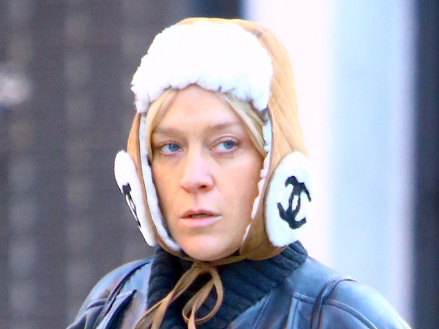 Chloë Sevigny's cozy winter hat will set you back $1,850