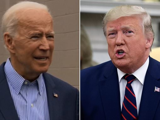 'Release your tax returns or SHUT UP!' Biden fights back against Trump's accusations of corruption