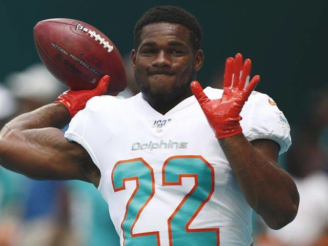 Mark Walton Waived by Dolphins after Allegations of Assaulting a Pregnant Woman