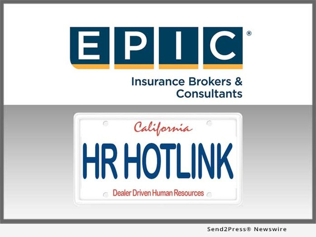 EPIC Insurance Brokers and HR Hotlink Partner for the Benefit of California New Car Dealers