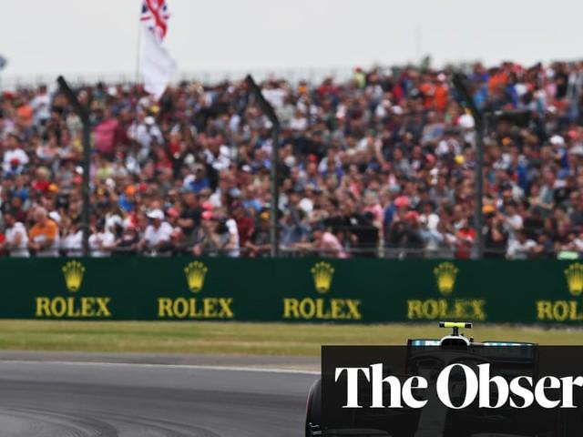 Valtteri Bottas edges out Lewis Hamilton for British F1 GP pole