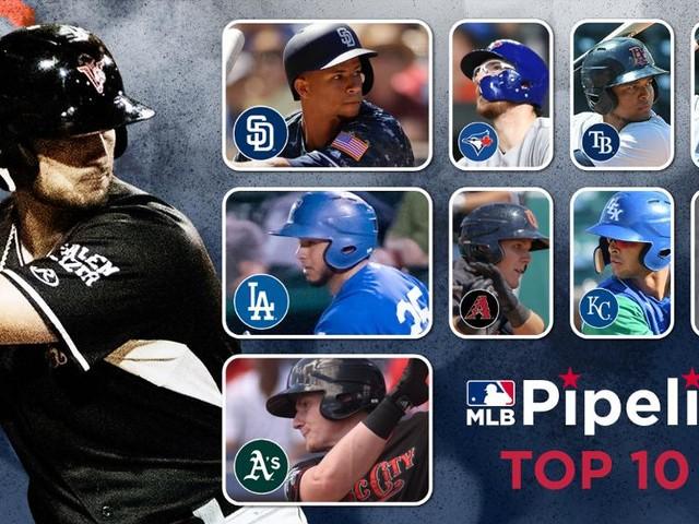 Amaya among MLB's Top 10 catching prospects