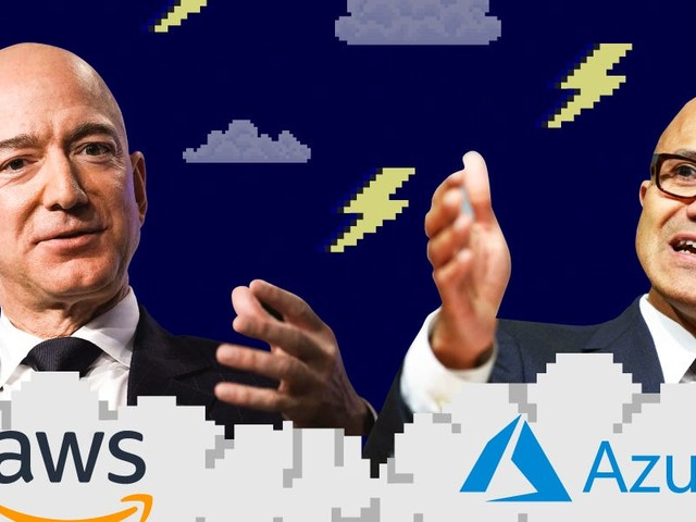 Microsoft's cloud crew is ready to rumble but Amazon is squaring off with Trump (GOOG, GOOGL, AMZN, MSFT)