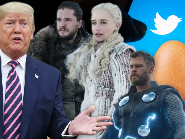 Donald Trump, Tom Holland and an egg among most-tweeted-about in 2019