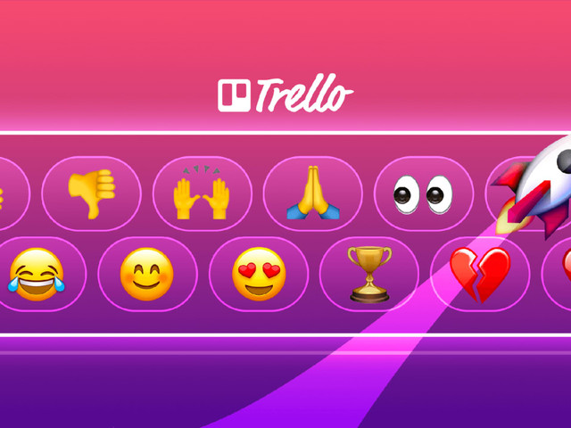 Now you can add emojis to cards in Trello