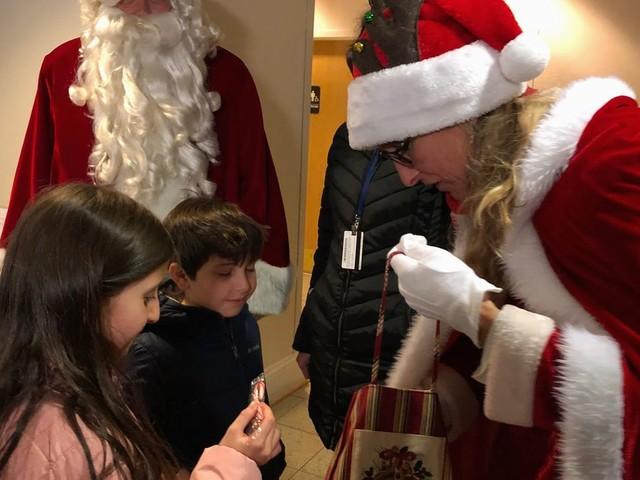 Santa Claus rides through Montgomery County to raise money for families of sick children