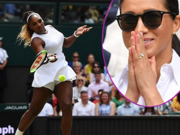 STILL THE GOAT! Serena Williams Reminds Us Why She's BIGGER Than Tennis After Losing Wimbledon Title + Meghan Markle Cheers Her On