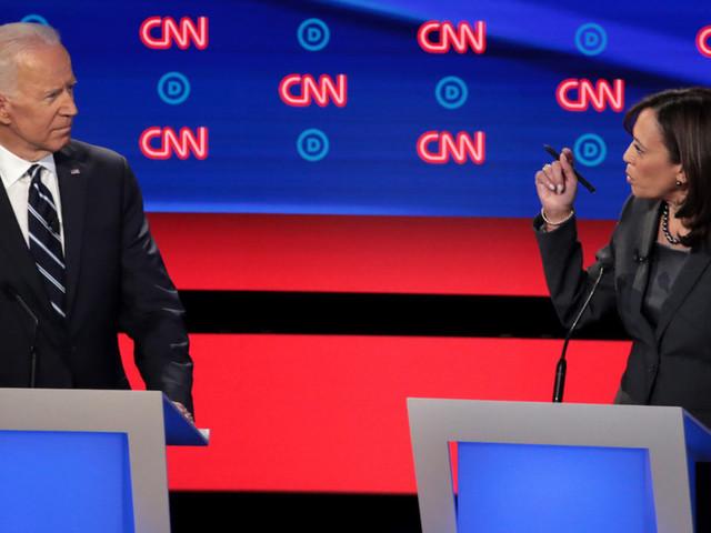 Biden to Harris pre-debate: 'Go easy on me, kid.' She does the opposite.