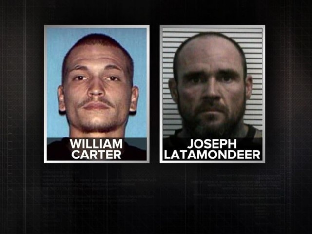 WATCH: Urgent manhunt for two inmates after a jail break in Missouri