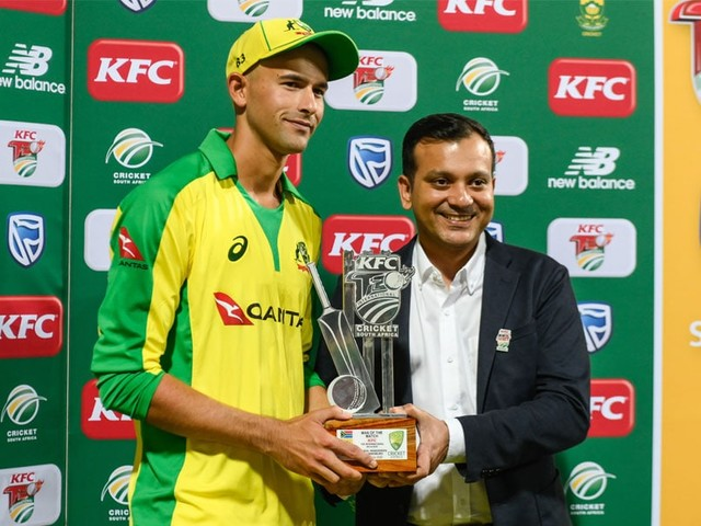 """Rockstar"" India All-Rounder Is Hat-Trick Hero Agar's ""Favourite Player"""