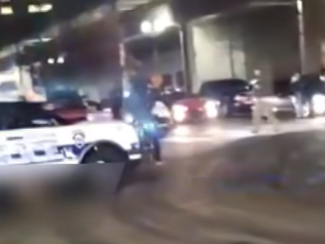 VIDEO: Tacoma police vehicle plows through crowd, officer placed on leave