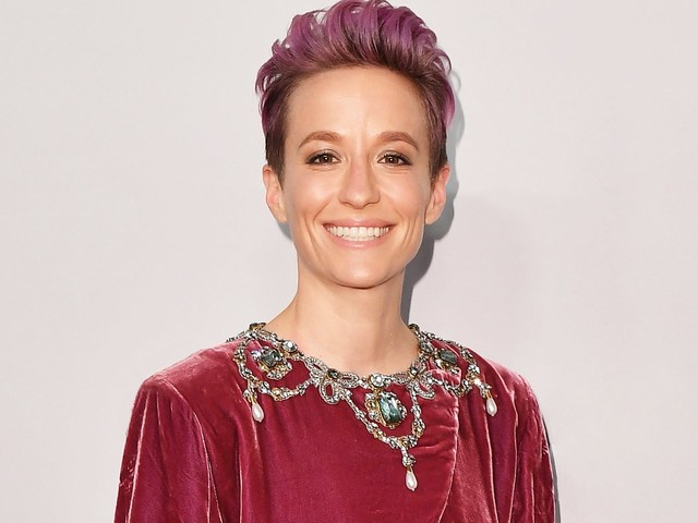 Megan Rapinoe's Latest Cover Proves Valentino Looks Best With A Sledgehammer