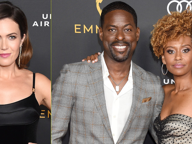 Mandy Moore & Sterling K. Brown Celebrate 'This Is Us' Ahead of Emmys 2019