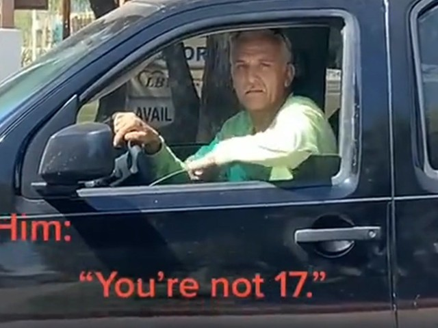 '19, but 17 if you're a creep': Woman claims to be a minor, confronts man who allegedly whistled at her