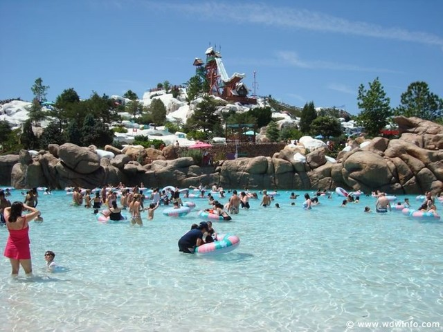 Disney's Blizzard Beach Water Park Closed January 20-22 Due to Forecasted Cold Temps