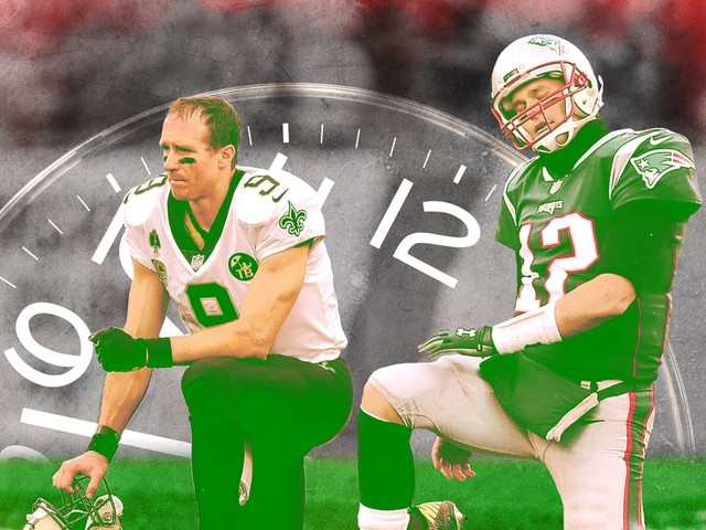 Tom Brady, Drew Brees, and the Era of the Forever QB