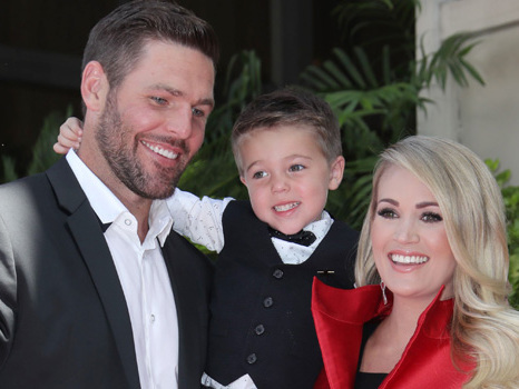 Carrie Underwood Teases Husband Mike & Son Isaiah, 5, Are Starting To Get 'Annoying': Watch