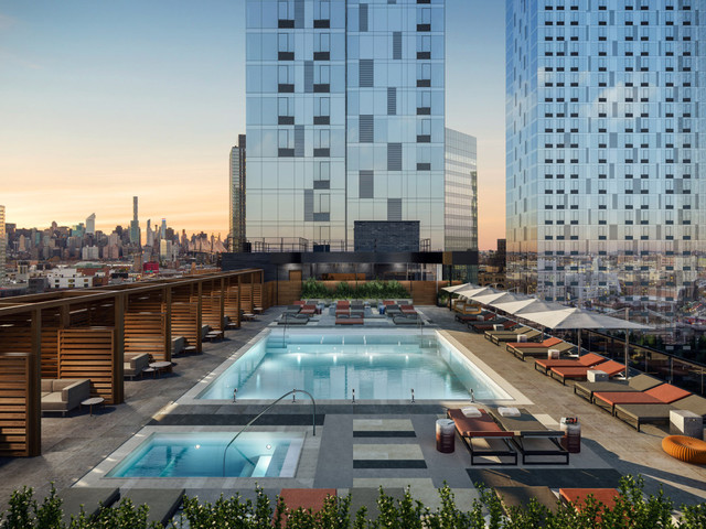 New York apartment amenities just reached an insane new level