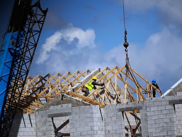 US housing starts reach highest level in 13 years after 'spectacular' December surge