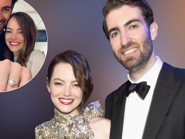 "Emma Stone Engaged to ""SNL"" Writer Dave McCary"