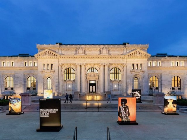 Apple CEO Tim Cook Discusses Apple's Revamped Carnegie Library Store in Washington, D.C.