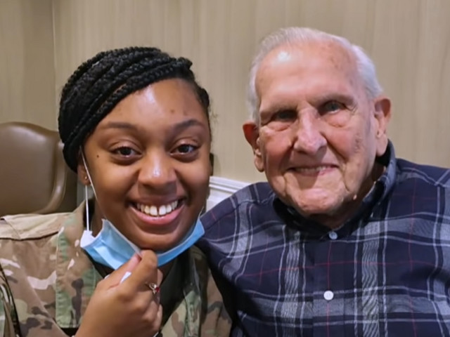 WWII veteran searches years for little girl who wrote him thank-you letter, gets the 'miracle' he was wishing for: 'This is a godsend'