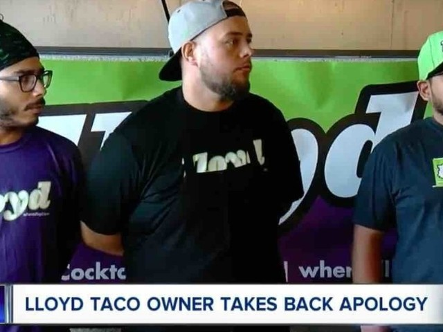 Taco truck outfit apologizes profusely for serving ICE workers, then apologizes again — for saying sorry the first time