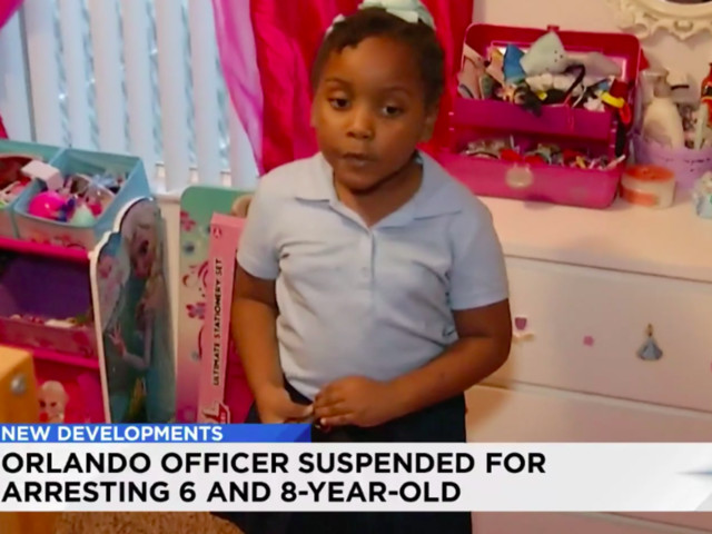 Cop suspended and facing an investigation after arresting 6- and 8-year-olds without permission
