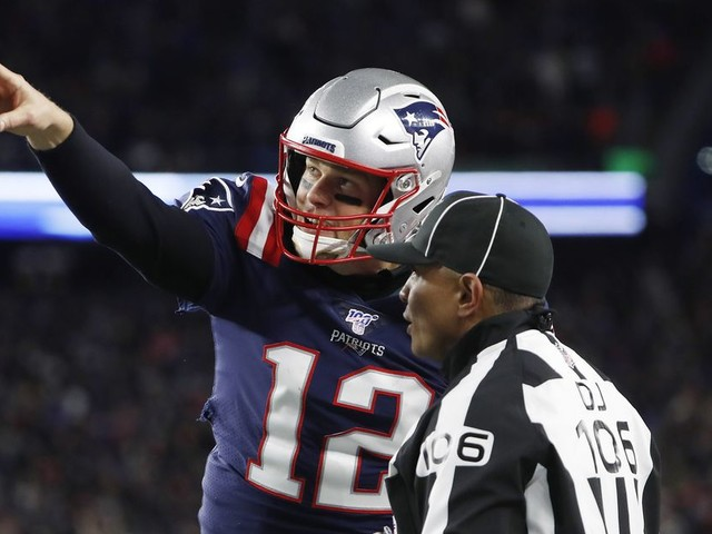 The referees actually ... screwed the Patriots? Huh, that's new