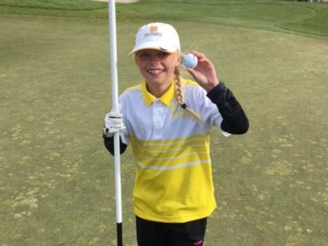 9-year-old has hole-in-one, buys round ... of hot chocolate