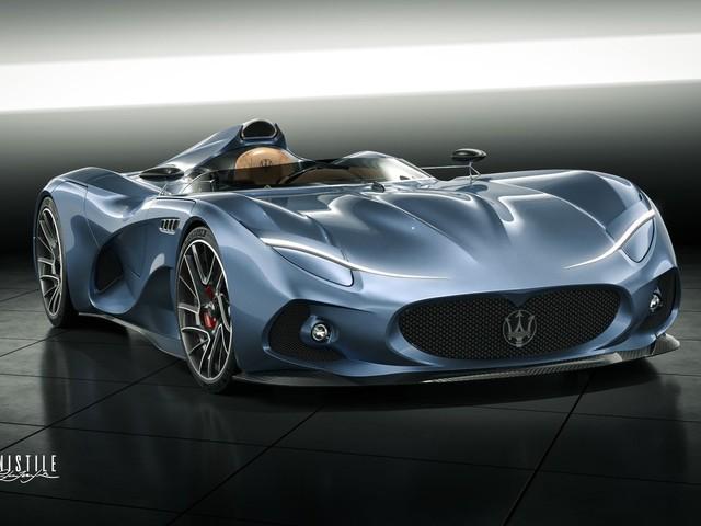 2020 Maserati MilleMiglia Concept