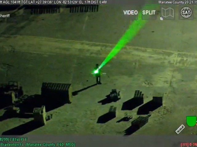 VIDEO: Pilot temporarily blinded trying to land after laser pointed in eyes, Florida man arrested